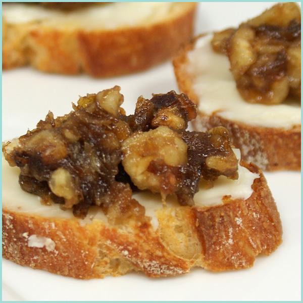 Sweet and Savory Crostini